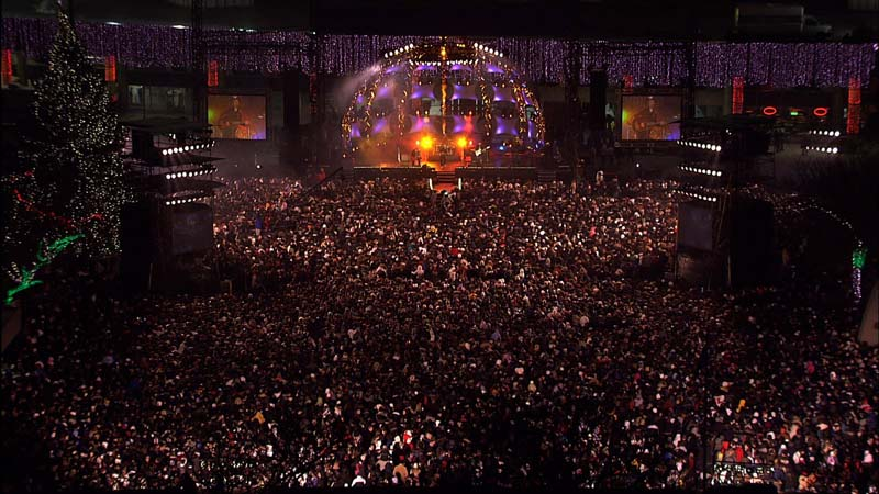New Year's Eve at Nathan Phillips Square, Toronto